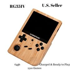 Anbernic RG351V Handheld Retro Game Console 64gb 2500 games with wifi built in