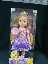 "My First Disney Princess Ultimate Toddler Princess Rapunel 20"" talks dress light"