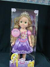 """My First Disney Princess Ultimate Toddler Princess Rapunel 20"""" talks dress light"""