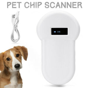 RFID ISO FDX-B Animal Chip Reader Microchip Handheld Pet Dog Scanner Portable