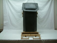 Antique Scuttle JEWETT VASE Tole - Coal Bucket - RARE - Pat'd Dec. 10 1872 - 95G