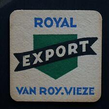 Van Roye - Wieze Sous-bock bierviltje bierdeckel coaster
