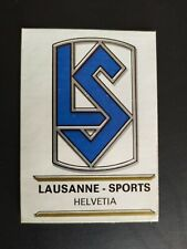 FIGURINA FOOTBALL CLUBS PANINI SCUDETTO LAUSANNE SPORTS n.134 OTTIMA DA RECUPERO