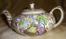 Vintage Lord Nelson POMPADOUR CHINTZ pattern stackinh teapot set