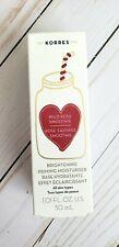 Korres Wild Rose Smoothie Brightening Priming Moisturiser 1.01 fl oz 30 mL NEW