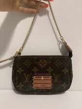😍WOW! Authentic Louis Vuitton TRUNK MONOGRAM Mini Pochette Limited Edition Bag