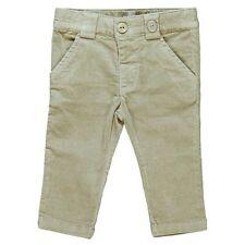 Boboli Boys beige suede effect trousers age 18 months