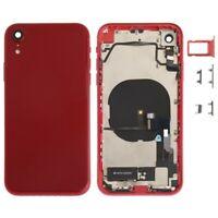 Carcasa Chasis Tapa Bateria + Piezas Apple iPhone XR Rojo