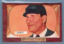1955 Bowman #311 Lawrence Goetz UMP EX-MT     GO320