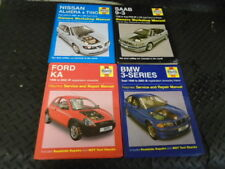 4 OWNERS WORKSHOP MANUALS SAAB 9-3 BMW 3 SERIES FORD KA &  NISSAN ALMERA TINO