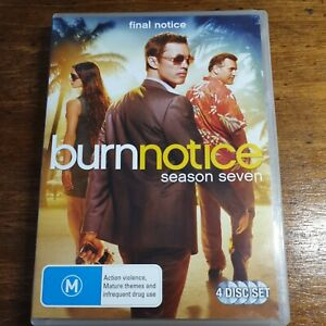 Burn Notice Season 7 DVD R4 LIKE NEW FREE POST
