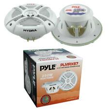 2 ALTOPARLANTI PYLE PLMRX67 impermeabili a 2 vie 125 watt rms 193 mm waterproof