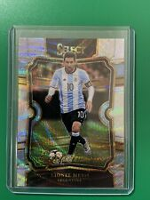 2017-18 Select Soccer Lionel Messi Equalizers Silver Wave Prizm Argentina