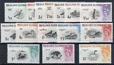 Lightly Hinged Birds Falkland Island Stamps