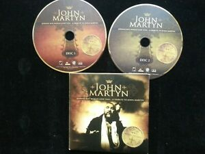 John Martyn - Johnny Boy (2 CD PROMO TRIBUTE) THE CURE BONAMASSA  Tzuke Collins