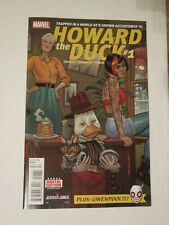 NEW Marvel comics HOWARD THE DUCK #1 (2015) ~ 1st ever appearance GWENPOOL!