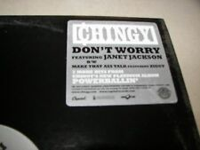 """Chingy Don't Worry w/Janet Jackson / Make That Ass Talk 12"""" Single NM 2004"""