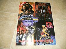 Metallica 1993 Rock It Comics Heavy Metal Poster 18.5 x 24.5 Ozzy Lita Ford