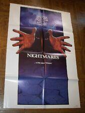 original NIGHTMARES one-sheet poster