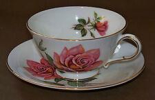 Vintage Paragon Helen Traubel Pink Rose Tea Cup & Saucer Set