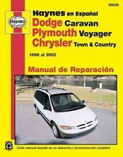 Plymouth Voyager y Chrysler Town & Country Haynes Manual de Reparacion por 1996