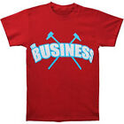 BUSINESS, The:Logo Maroon:T-shirt- NEW - XLARGE ONLY