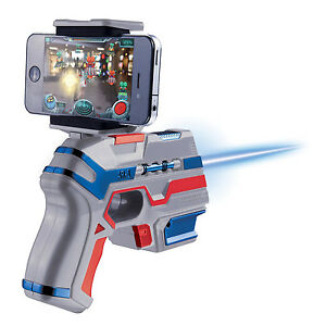 AR Attack ARliens Augmented Reality Gun Alien Shooting Game IOS Android Player