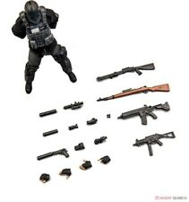 BRAVOBROS mercenary 01B 1/12 scale action figure (black)