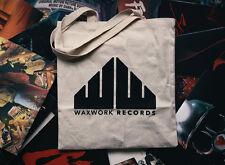 Waxwork Records naturel toile LP Disques Sac Fourre-Tout Neuf Et Scellé