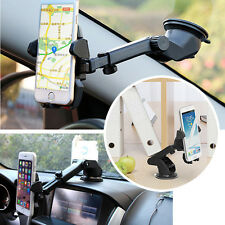 Universal Telescopic Long Neck One-Touch Car Mount Holder Cradle for GPS Phone 8