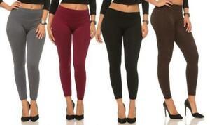 Women's Fleece Lined Leggings - One Size Fits Most