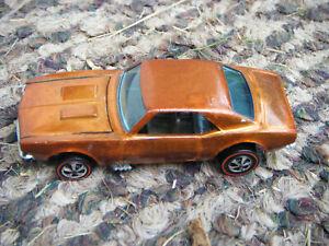 Hot Wheels Redlines US Custom Camaro Orange