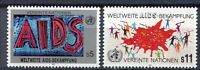 19369) UNITED NATIONS (Vienna) 1990 MNH** Anti AIDS