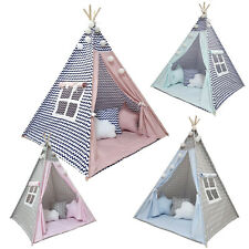 Kinderzelt Komplet Set Tipi Indianerzelt Spielzelt Kinderzimmer Zelt 7tlg. TOP!