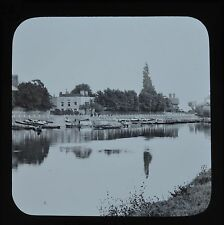 c1890s Magic Lantern Slide Photo Datchett Thames Windsor James Valentine