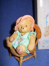 "Cherished Teddies 624861 ""A Mother's Love Bears All Things"" 1993 Nib"