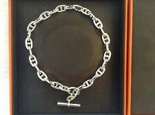 Hermès Superbe collier Chaîne d'ancre - Neuf dans son écrin