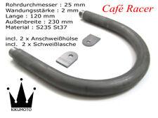Cafe Racer Loop Ø25x2 Breite 230mm Länge 120mm Heckrahmen Hoop Boucle (1947593)
