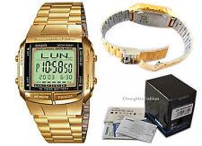 Reloj digital Banco de datos Clásico Hora Dual DB360GN Casio Unisex alarmas RRP £ 59
