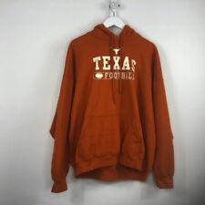 Texas Longhorns Men's Long Sleeve Hooded Sweatshirt Size 2XL (A1-23)