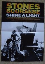 P500 - Kinoplakat - SHINE A LIGHT - The Rollings Stones - Mick Jagger/Keith Rich