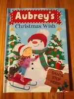 "Christmas Wish Book ""Aubrey"" - Perfect Stocking Stuffer"