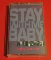 RUBY TURNER Stay With Me Baby CASSETTE UK Magnet 1994 2 Tracks