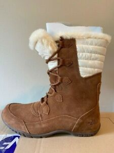 The North Face Women's Nuptse Purna II Snow Boots / BNWOB / Brown