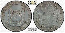 PCGS Mexico 1753 Pillar 8 Reales Ferdinand VI Spanish Colonial Silver Coin VF #1