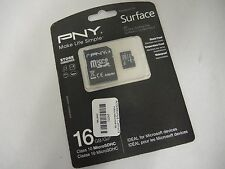 PNY Designed for Surface16GB High Speed MicroSDHC Class10 Up to 40MB/sec (32651)