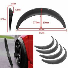 4pc 890mm Flexible Car Fender Flares Extra Wide Body Wheel Arches Universal
