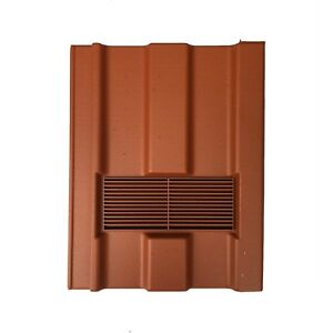 Roof Tile Vent To Fit Redland Renown | Terracotta Smooth | 8 Colours Available