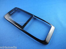 Original Nokia e51 carcasa superior negro frontal cáscara cover, a-cover Black nuevo New