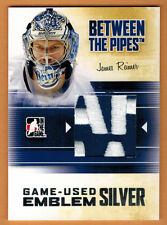 2010-11 , ITG , IN THE GAME , JAMES REIMER , BETWEEN THE PIPES , SILVER , 1/3